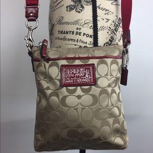 Coach 1941 signature shoulder bag